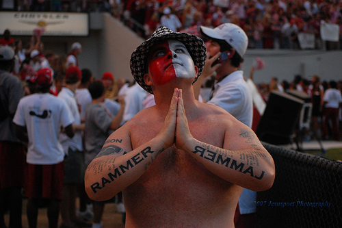 This guy has the Paul Finebaum Radio Network on speed dial.