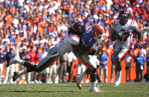 Kendrick Lewis and the Mississippi D is not the best defense in the SEC, but were the only squad to stop the Florida Gators when it counted.