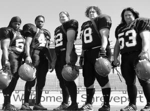 Shreveport has a professional women's football team.