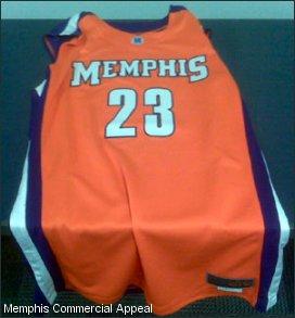 Fedex Uniform Memphis Basketball